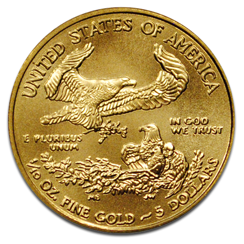 1/10 oz American Eagle | Oro | 2013