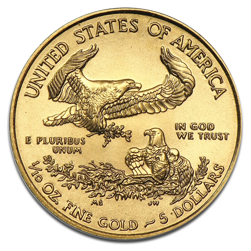 1/10 oz American Eagle | Gold | 2014