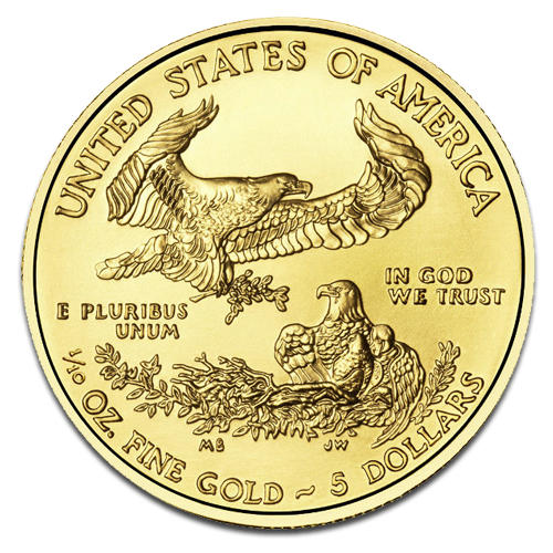 1/10 oz American Eagle | Or | 2015