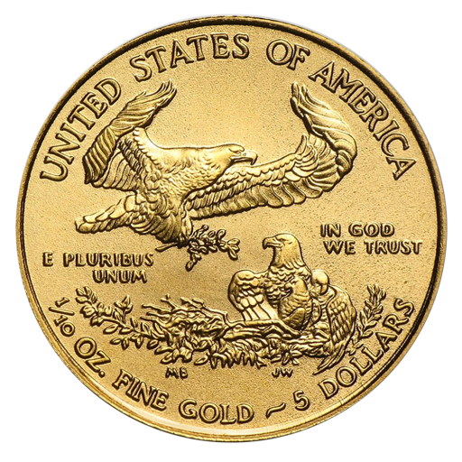 1/10 oz American Eagle Goldmünze (2018)