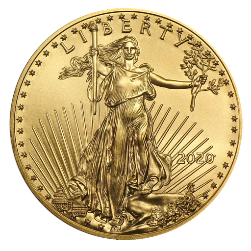 1/10 oz American Eagle Goldmünze (2020)