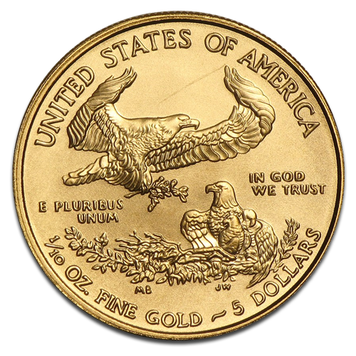 1/10 oz American Eagle | Gold | mixed years