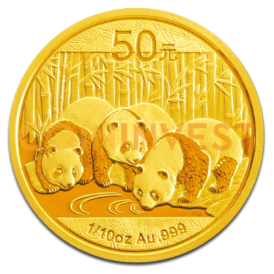 1/10 oz Panda China | Oro | 2013