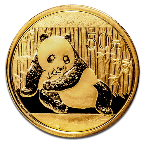 1/10 oz Panda China | Oro | 2015