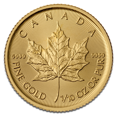 1/10 oz Maple Leaf | Gold | 2015