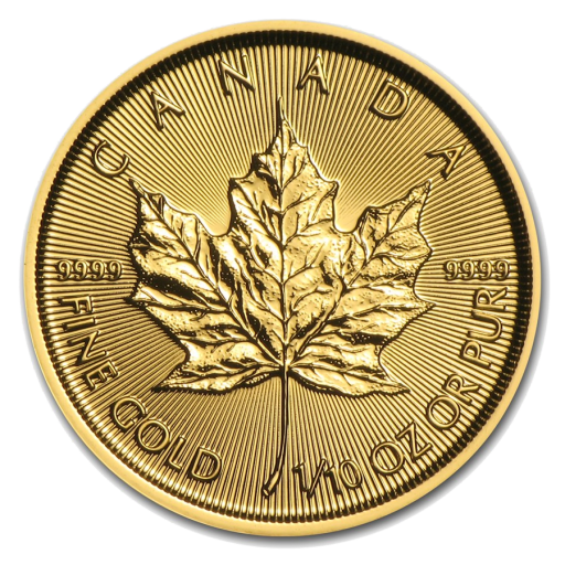 1/10 oz Maple Leaf | Or | 2017