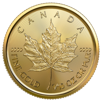 1/10 oz Maple Leaf | Oro | 2021