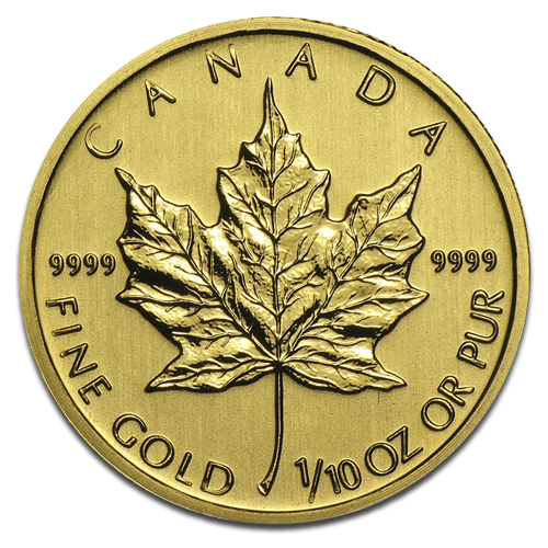 1/10 oz Maple Leaf | Gold | mixed years