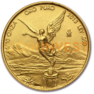 1/10 oz Mexican Libertad Gold Coin (Mixed Years)