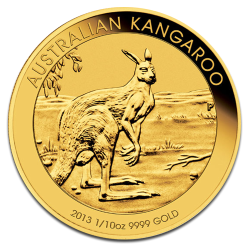 1/10 oz Nugget Kangourou | Or | 2013
