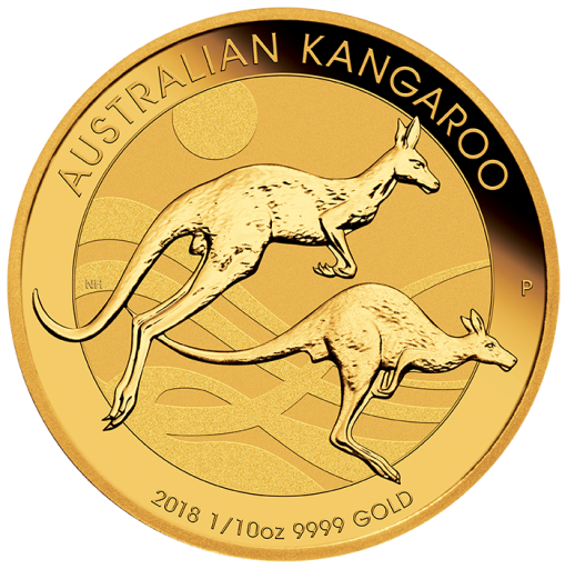 1/10 oz Nugget Kangaroo Gold Coin (2018)