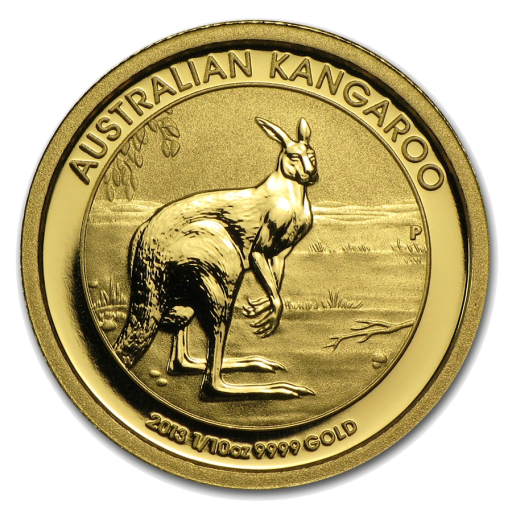 1/10 oz Nugget Kangaroo Gold Coin (mixed years)