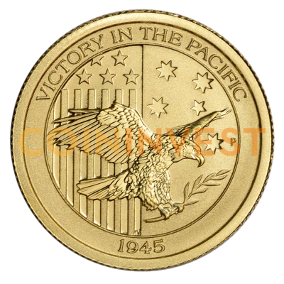 1/10 oz Victory in the Pacific Gold Coin (2016)