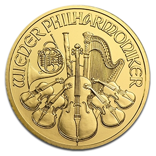 1/10 oz Vienna Philharmonic | Gold | 2014