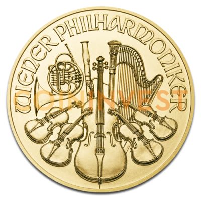 1/10 oz Vienna Philharmonic | Gold | 2016
