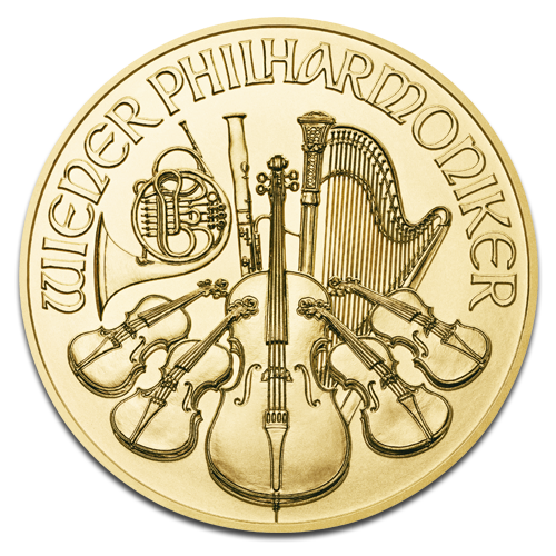 1/10 oz Wiener Philharmoniker | Gold | 2016