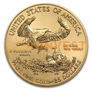 1/2 oz American Eagle | Or | 2014