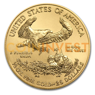1/2 oz American Eagle | Gold | 2017