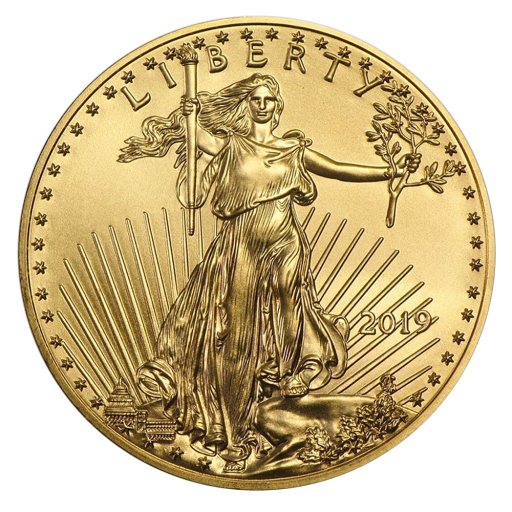 1/2 oz American Eagle d' or (2019)