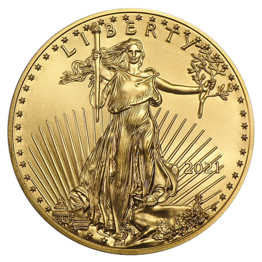 1/2 oz American Eagle Goldmünze (2021)