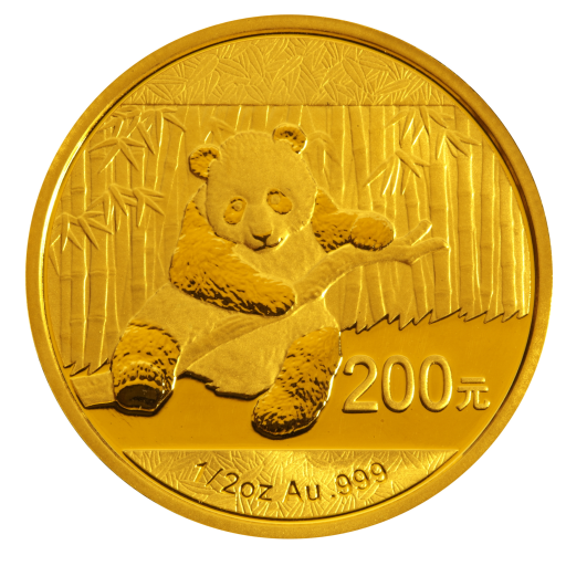 1/2 oz China Panda | Gold | 2014