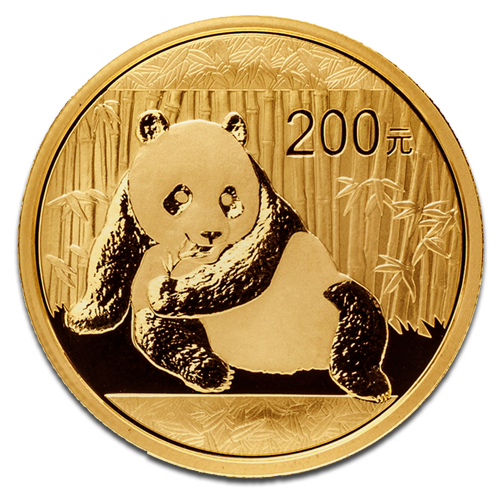 1/2 oz China Panda | Gold | 2015
