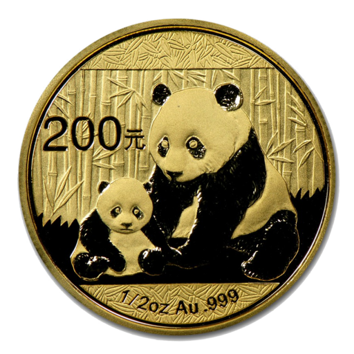 1/2 oz China Panda | Gold | mixed years