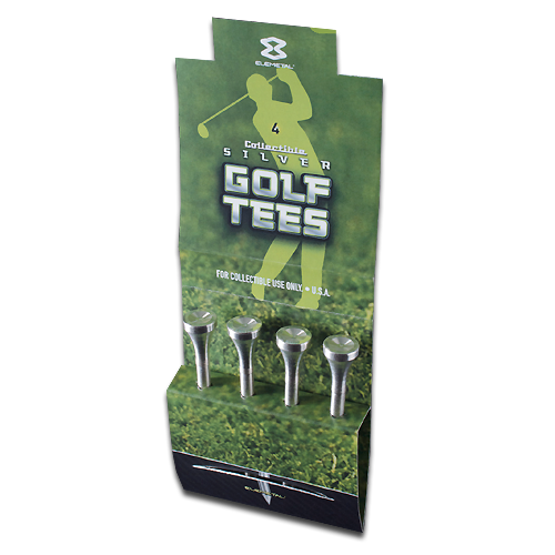 1/2 oz Golf Tees | Plata