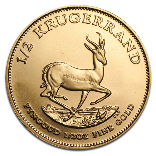 1/2 oz Krugerrand | Gold | 2nd choice | mixed years