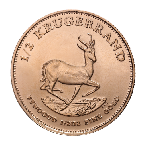 1/2 oz Krugerrand | Gold | mixed years