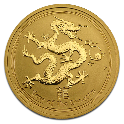 1/2 oz Lunar Dragon | Gold | 2012