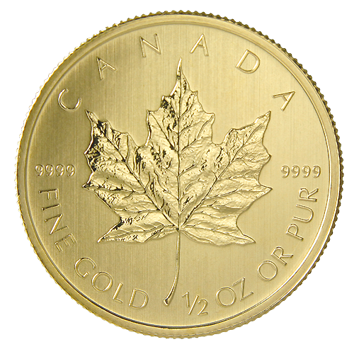 1/2 oz Maple Leaf | Oro | 2013