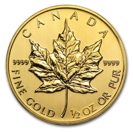 1/2 oz Maple Leaf | Oro | 2014