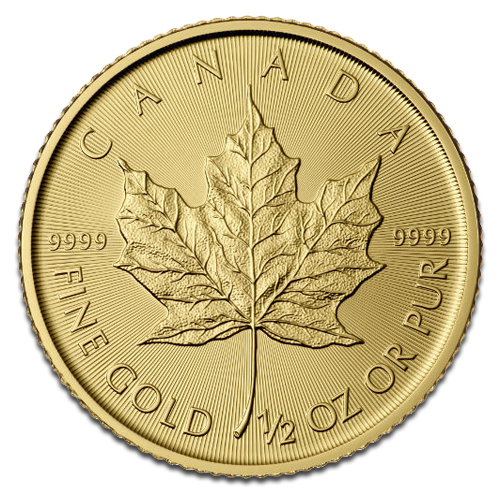 1/2 oz Maple Leaf | Gold | 2016