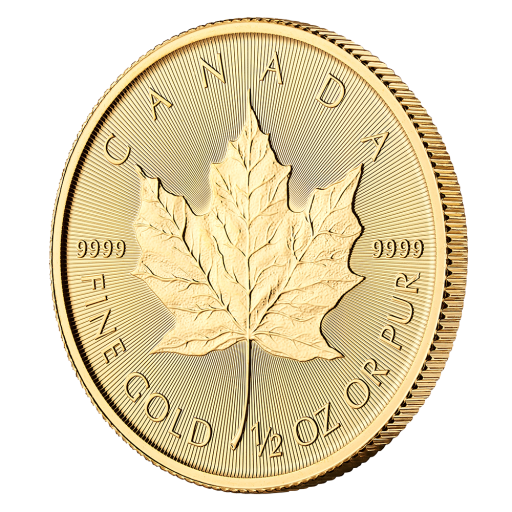 1/2 oz Maple Leaf Gold Coin (2019)
