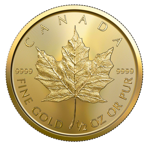 1/2 oz Maple Leaf Gold Coin (2020)