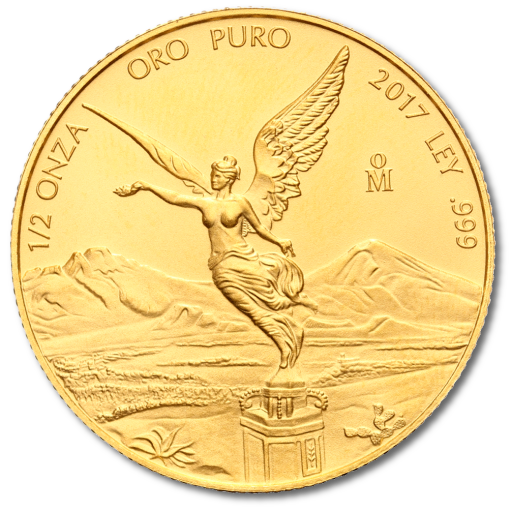 1/2 oz Mexican Libertad | Gold | 2017