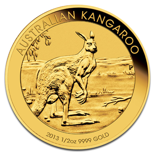 1/2 oz Nugget Kangaroo | Gold | 2013