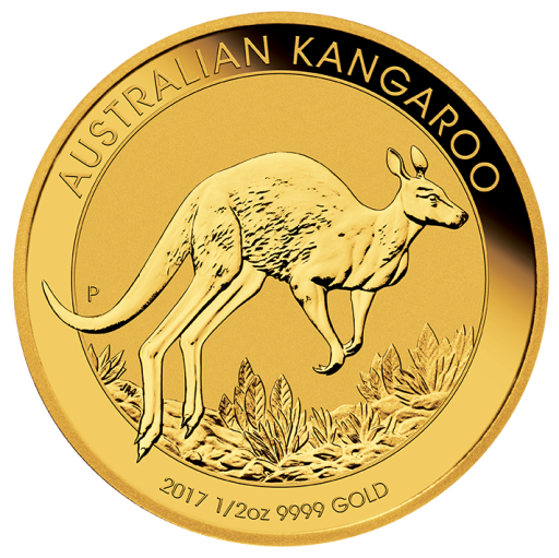 1/2 oz Nugget Kangaroo | Gold | 2017