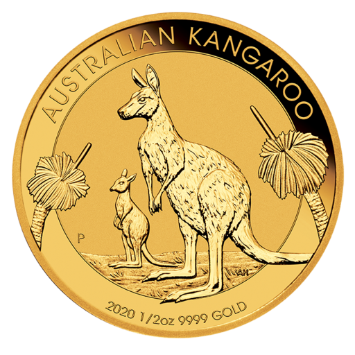 1/2 oz Nugget Kangaroo Gold Coin (2020)