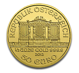 1/2 oz Vienna Philharmonic | Gold | 2012