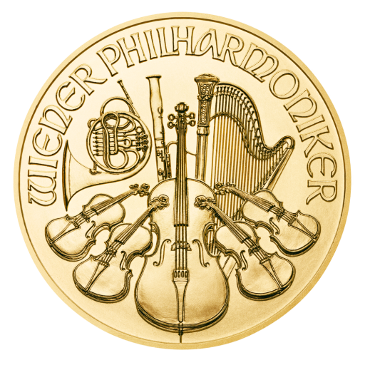 1/2 oz Vienna Philharmonic Gold Coin (2018)