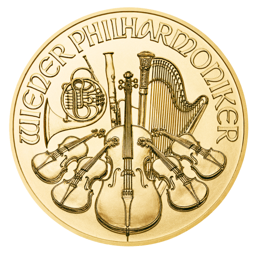 1/2 oz Vienna Philharmonic Gold Coin (2020)