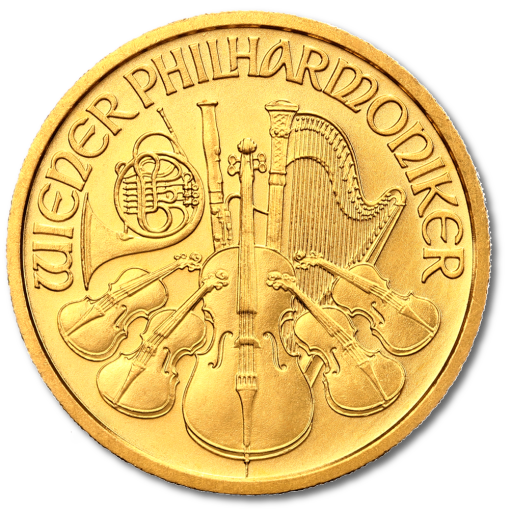 1/2 oz Vienna Philharmonic | Gold | mixed years