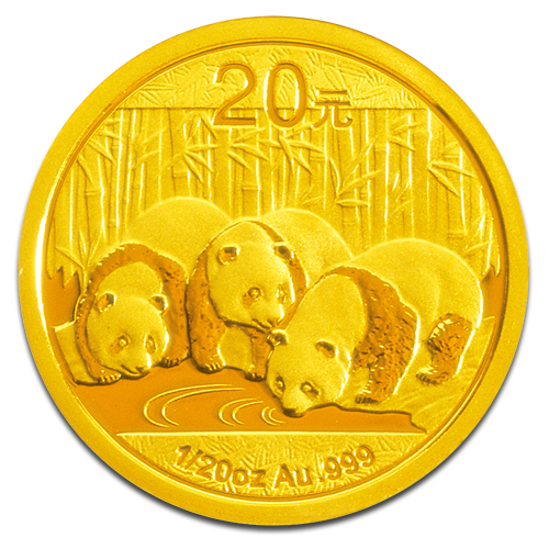 1/20 oz China Panda | Gold | 2013