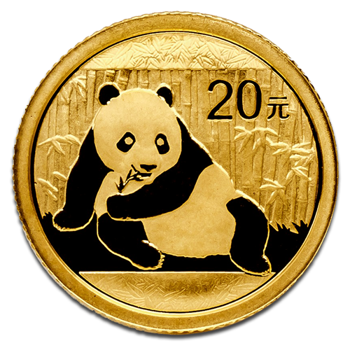 1/20 oz China Panda | Gold | 2015
