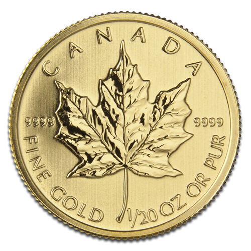 1/20 oz Maple Leaf | Gold | 2013