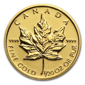1/20 oz Maple Leaf | Or | 2014