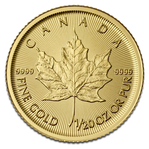 1/20 oz Maple Leaf | Gold | 2016