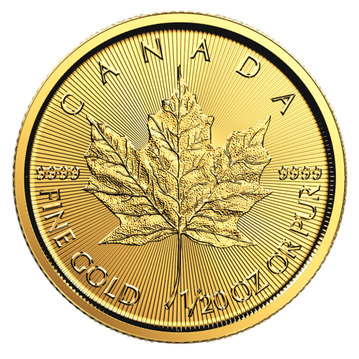 1/20 oz Maple Leaf | Oro | 2018
